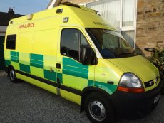 Cryonics UK's Ambulance